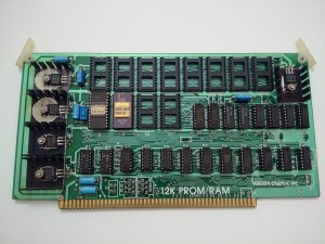 Vector Graphic 12k PROM/RAM - front