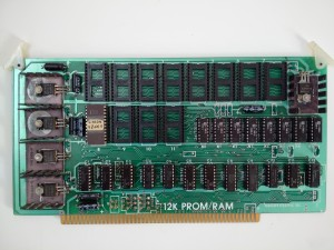 Vector Graphic 12k PROM-RAM card - Front
