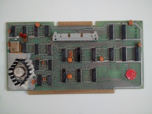 Exidy S-100 Expansion Kit card - Detailed