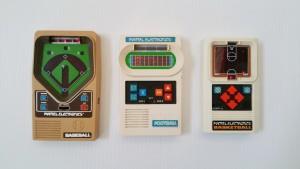 Mattel Electronics handheld games