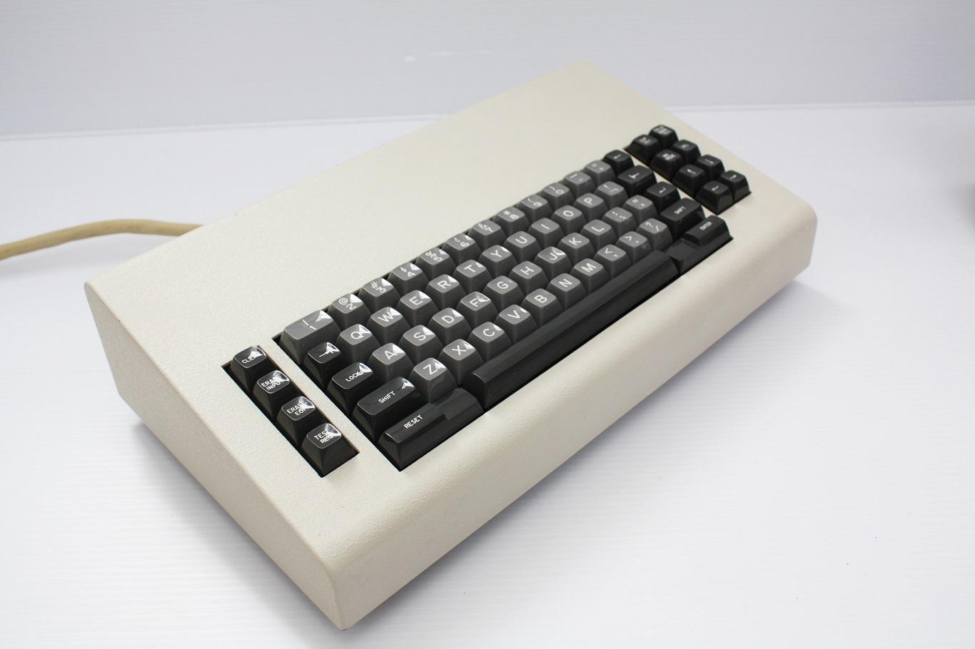 Vintage computer keyboard sliders