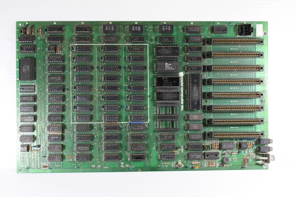 Apple II Rev 3 Green front