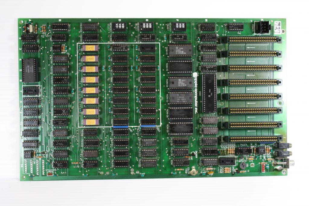 Apple II Rev 3 Original front