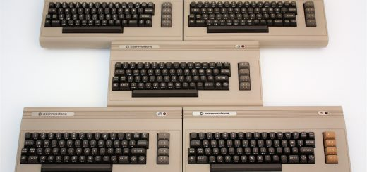 Commodore 64 Silver labels